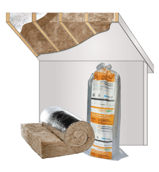 Glasswool - Roof - Space Blanket