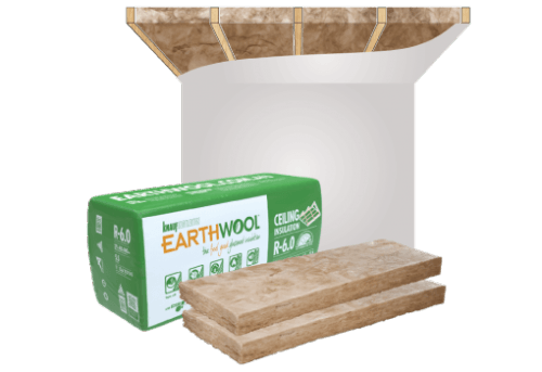 Glasswool - Ceiling - Earthwool Ceiling batt