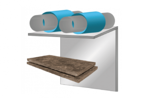 Glasswool - Duct Liner - Climacoustic HVAC Semi Rigid Board