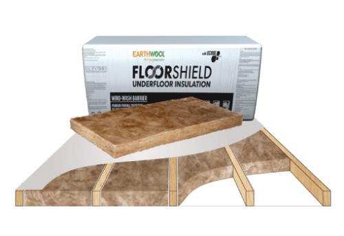 Glasswool - Floor - Earthwool FloorShield underfloor batt