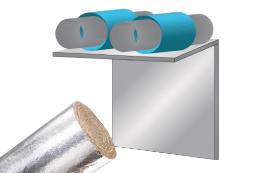 Glasswool - Duct Liner - Climacoustic External Duct Wrap