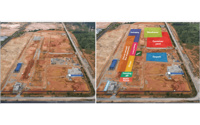 Building begins on new Plant